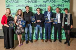 Charge-Preis 2017 für Greenpeace Energy. Foto: Charge Award
