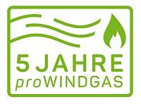 Logo Fünf Jahre Windgas