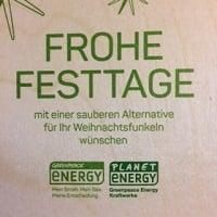 Greenpeace Energy wünscht frohe Weihnachten