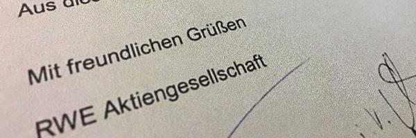 RWE-Brief