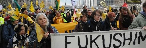 Fukushima-Demo in Berlin
