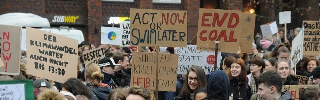 Fridays for Future-Demo in Hamburg